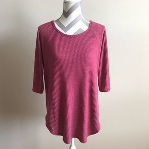 Anthropologie Pure + Good Thermal Top S EUC